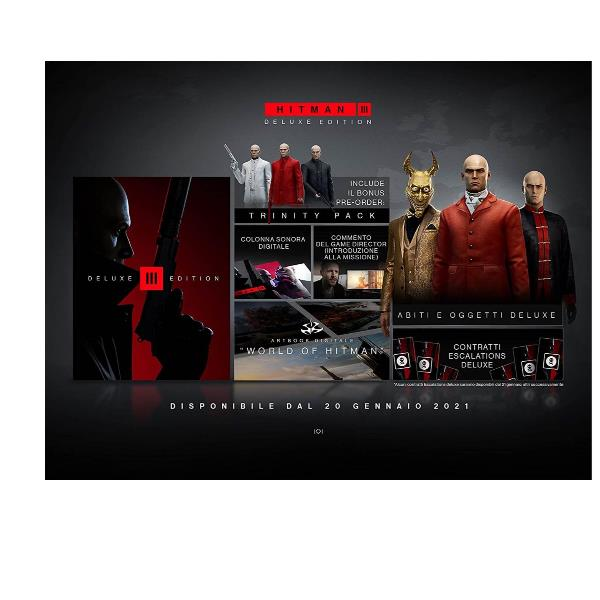 KOCH MEDIA PS5 HITMAN 3 - DELUXE EDITION 1061750