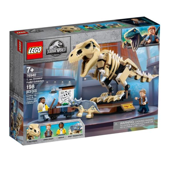 LEGO MOSTRA FOSSILE DINOSAURO T. REX 76940